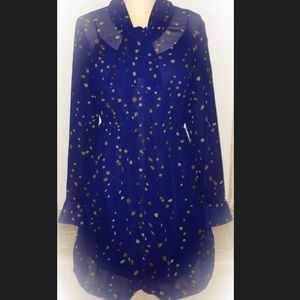 ⭐️2 for $40⭐️Kenzie Blue Sheer Long Sleeve Dress